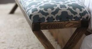 bedroom bench diy photo ana white easiest upholstered bench diy