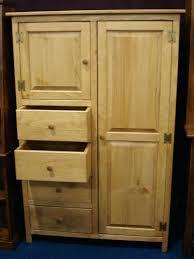 solid pine armoire u2013 blackcrow us