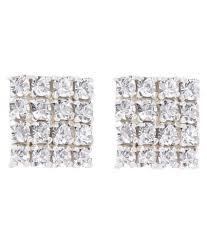 honey singh earrings carrydreams honey singh inspired cubic zirconia earrings buy
