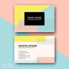 business card template designs pop geometric card templates