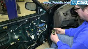 How To Replace Exterior Door by How To Install Replace Front Door Check Stop Strap 1992 2000 Honda