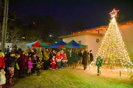 christmas tree lighting ceremony helps spread holiday cheer