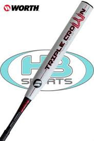 worth slowpitch softball bats worth crown xl connell legit limited edition of 2500