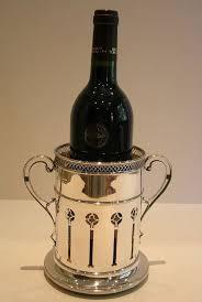 silver wine bottles antique solid sterling silver wine or chagne bottle
