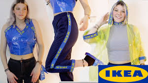 diy ikea designer clothes out of ikea 0 99 cent bag youtube