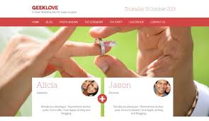 wedding websites best the best themes for wedding websites vandelay design