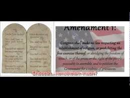 the u s constitution is based on biblical principles not