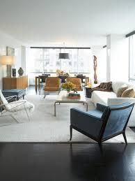 white and blue rug comfy light gray davenport sofa sleek oval