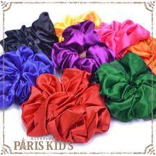 bobbles hair kids rakuten global market rainbow color volume scrunchie