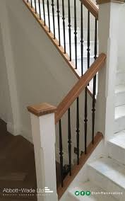 Replace Stair Banister Model Staircase Model Staircase Replace Spindles On Replacing And