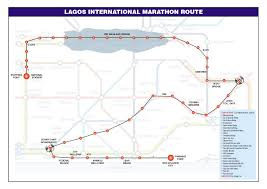 lagos city map top runners sign up for 2016 access bank lagos city
