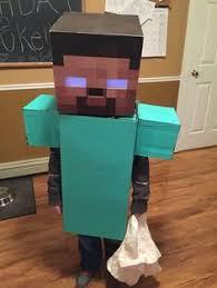 Halloween Minecraft Costumes Minecraft Herobrine Costume Halloween Ideas