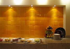 mexican tile backsplash kitchen mexicantiles backsplash with yellow mexican tile