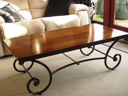 Rustic Wood And Metal Coffee Table Cool Rustic Wood And Iron Coffee Table 18 For Home Remodel Ideas