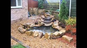 beautiful garden waterfall design ideas youtube