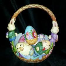 jim shore easter baskets 15 best jim shore easter baskets i own images on
