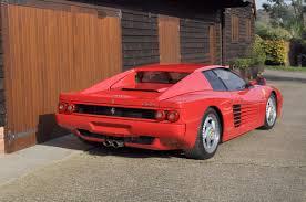 ferrari testarossa 1996 ferrari testarossa 512m coupé coys of kensington