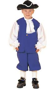 colonial costumes for boys colonial party city