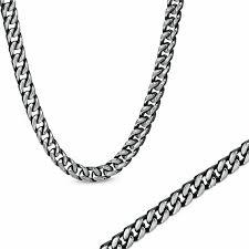 black necklace sets images Men 39 s shaquille o 39 neal 8 0mm chain necklace and bracelet set in jpg