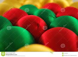 colorful silk ornaments stock images image 12045894