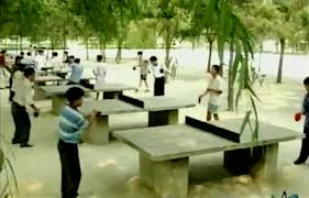 Outdoor Tennis Table Concrete Table Tennis Tables Perfect For Outdoor Ping Pong