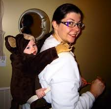 Halloween Costumes Monkey Babywearing Halloween Costume Inspiration Hey Mama U0027ve