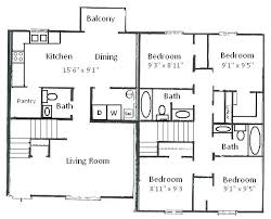 4 bedroom house plans 1 story house plans 4 bedroom bedrooms 3 on 2 levels house plan 4 bedroom 3
