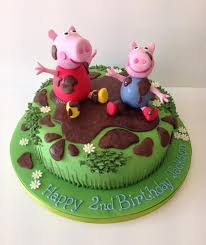 peppa pig cakes peppa pig birthday cakes peppa pig cakes cakes by robin