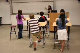 standing desks for students standing desks increase students active time healthy kids today