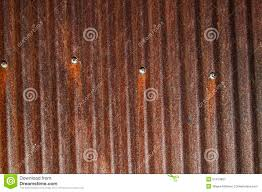 Barn Roof by Rusty Corrugated Tin Barn Roof Nails Stock Photo Image 51413907
