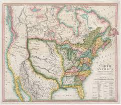 Old Mexico Map First Map To Illustrate The Louisiana Purchase In Full Rare