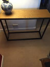 Gumtree Console Table Modern Industrial Side Console Table In Chippenham Wiltshire