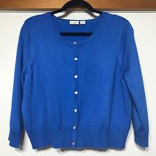 cato sweaters 60 cato sweaters royal blue cardigan crop sweater xl