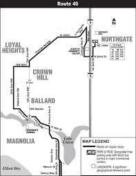 Map Ballard Seattle by Physical Route 40 Map Seattle 89 On With Route 40 Map Seattle At Maps