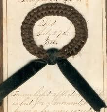 hair wreath the hair wreath mementos of the 1850 1875 era