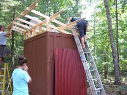 cool shed exterior how to build great shed decoration with ondura roofing