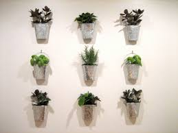 captivating decorative indoor planter ideas with white color and
