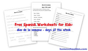 free spanish worksheets for kids in the garden en el jardín