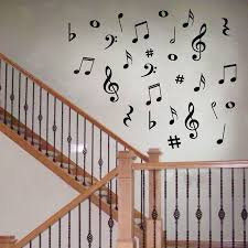 online buy wholesale music wall decor from china music wall decor hot selling 28 vinyl music musical notes variety pack wall decor decal sticker on wall decal