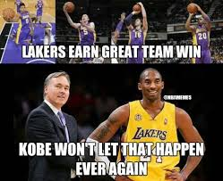 Laker Hater Memes - nba memes on twitter kobe bryant haters be like http t co