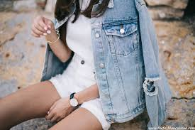 Light Jean Jacket Denim Jacket And White Rips U2022 The Fashion Cuisine