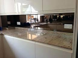 mirrored kitchen backsplash bronze mirror home remodeling and kitchens antique mirrored