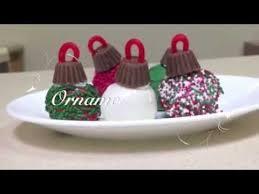 how to make chocolate truffle christmas ornaments youtube