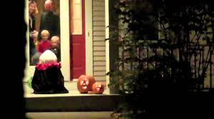 funny halloween pranks funny halloween prank fake trick or treater prank youtube