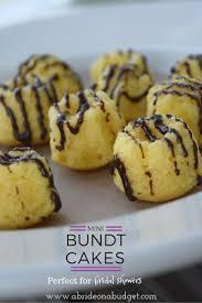 10 best mini bundt cakes cake mix recipes