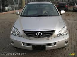 2008 lexus rx 400h awd 2007 lexus rx 400h awd hybrid in millennium silver metallic