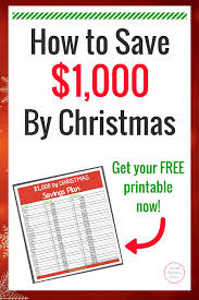 help with christmas 26 week 1 000 by christmas savings plan what does