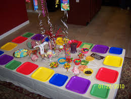 candyland party ideas candyland birthday party table great idea with the square plates