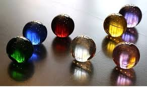 light blue decorative balls 70mm rare acid blue decorative solid glass ball crystal ball sphere
