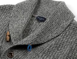 paul smith shawl collar waffle cardigan u2022 gear patrol